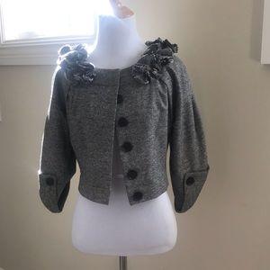 Robert Rodriguez bolero style blazer, size S
